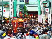 神田祭神輿の宮入 - 風の香に誘われて 風景のふぉと缶