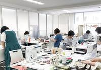 【ヴォーグ学園東京校】生徒さんの作品とリュック途中経過♪ - neige+ 手作りのある暮らし