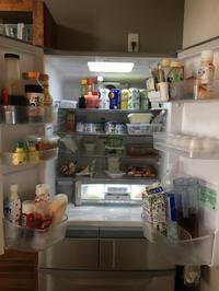 冷蔵庫の中身全部出し! - 岐阜・整理収納アドバイザーのブログ・おちつくおうち