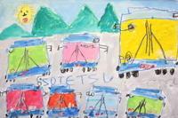 6・7・8月のレッスン - アトリエ桧葉絵画造形教室