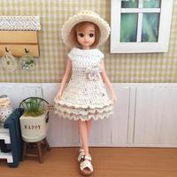 今年の夏のドール服、第1弾♪ - 編み好き@amiami通信