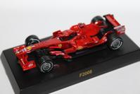 1/64 Kyosho Ferrari F1 3 F2008 2008 - 1/87 SCHUCO & 1/64 KYOSHO ミニカーコレクション byまさーる