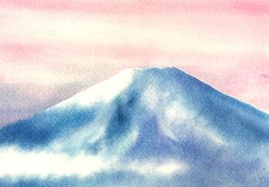 富士山を描こう4 - パステルシャインアート銀座本部