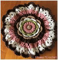 円座☆フリルガーベラ - Flower*Crochet