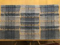 今日もさわやかな夏糸の織物@みんなの作品 - 手染めと糸のワークショップ