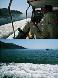 つかの間でも船旅気分沖島に上陸 - あ お そ ら 写 真 社