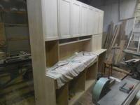 食器棚の扉 - 手作り家具工房の記録
