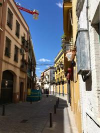 スペイン旅17 セビーリャの宿から中心地へ - Oga-memo ♪