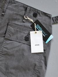 ARANFATIGUE 46 - COOL MAX TWILL / ARMY CHARCOAL (PRODUCTS FOR US) - 『Bumpkins putting on airs』