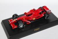 1/64 Kyosho Ferrari F1 3 F2007 2007 - 1/87 SCHUCO & 1/64 KYOSHO ミニカーコレクション byまさーる