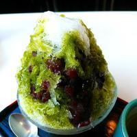 エマックス・クルメ「甘太郎」 - 福岡の抹茶かき氷