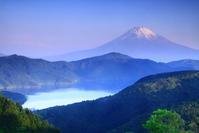 令和元年5月の富士(23)大観山春霞の富士 - 富士への散歩道 ~撮影記~