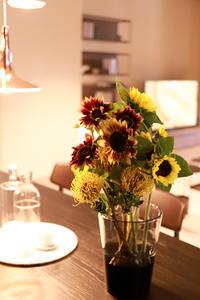 黄色とオレンジの装花 - Cherish~大切なもの