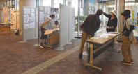 はじまりました!!第5回人物・静物スケッチ展 - プチ撮り福岡そしてスケッチ 博多人物スケッチ会 街角人物デッサン