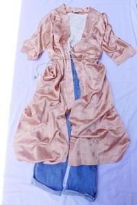 Dior gown coat - carboots