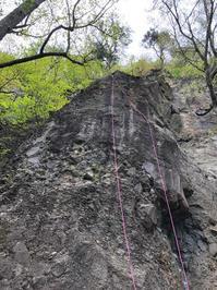 【スクール】 甲府幕岩、小川山 (5月22日、23日) - ちゃおべん丸の徒然登攀日記