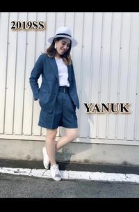 大人のセットアップ♪「YANUK ヤヌーク」ジャケット・ショートパンツ入荷です。 - UNIQUE SECOND BLOG