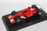 1/64 Kyosho Ferrari F1 3 F2001 2002 - 1/87 SCHUCO & 1/64 KYOSHO ミニカーコレクション byまさーる