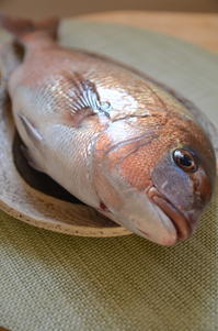 鯛のアラ煮 - 料理教室 あきさんち