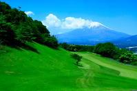 令和元年5月の富士(25)ゴルフコースからの富士 - 富士への散歩道 ~撮影記~