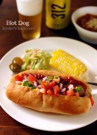 メモリアルデーに、ホットドッグ&チリビーンズ - Kyoko's Backyard ~アメリカで田舎暮らし~