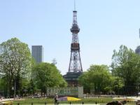 猛暑の北海道⑤5月の札幌、いいですね - しあわせオレンジ