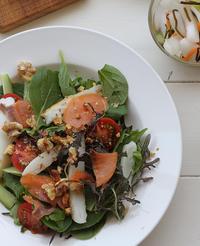 タンパク質満載サラダ - Nasukon Pantry