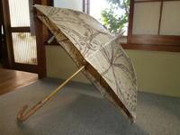 絣の日傘 - 日傘 用の美を求めて