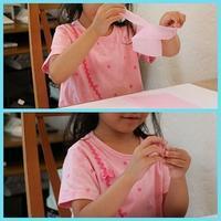 お花紙であじさい作り - 大阪府池田市 幼児造形教室「はるいろクレヨンのブログ」