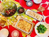 タコトマトのサラダとふわっとろチーズ焼き! - ワタシの呑日記