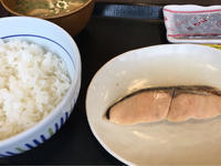 29日 鮭朝食@なか卯 - 香港と黒猫とイズタマアル2