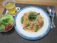 ワンパンレシピ☆旬野菜の彩りパスタ - candy&sarry&・・・2