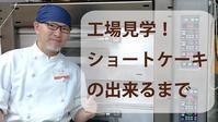 GALETTE channel #004【工場見学!ショートケーキのできるまで】パティスリーガレットのショートケーキはこんなふうに作ってます~ - パティスリーガレット(大阪平野区)の代表窯番の「焼きっぱなしガレットブルトンヌ」blog