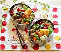 ハンバーグ弁当と今夜のおうちごはん♪ - ☆Happy time☆