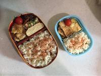 豚肉の生姜焼き - 庶民のショボい弁当