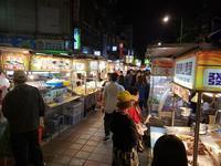 寧夏路夜市で夕食カルフール重慶店で買い物 - atelier Anya and Didier