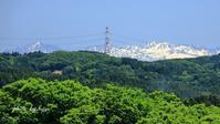 立山連峰と白山 - 晴れ時々そよ風