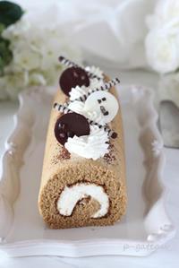 6月のお菓子レッスンはティラミス・ロール - 気ままなdiary♪