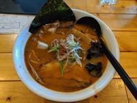 麺や 政志 さんで辛味噌ラーメン(千歳市北陽3:2019年80杯目) - eihoのブログ2