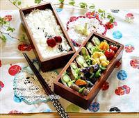 アスパラの肉巻き弁当とリリーの季節・ヤマユリ♪ - ☆Happy time☆