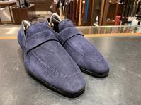スエード、スエード、スエード - シューケアマイスター靴磨き工房 銀座三越店