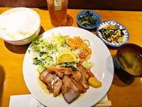 京都市 ガッツリ煮豚定食♪ you房 - 転勤日記