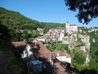 フランスの美しい村々を巡る⑩サン・シルウ・ラポピー⑪カプドナック★仏南西部オクシタニー地方紀行06 - fermata on line! イタリア留学&欧州旅行記とか、もろもろもろ