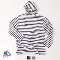 SAINT JAMES [セントジェームス] HOODED T-SHIRT [17JC-OUES.CAPU/BORDER] パーカー・フードシャツ・長袖・Tシャツ・ボーダーMEN'S/LADY'S - refalt blog