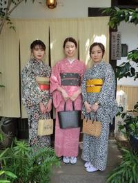 スッキリのお着物姿です。 - 京都嵐山 着物レンタル「遊月」