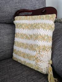 カギ針編みのバッグが完成です - ニットの着樂