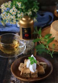 バラの紅茶のシフォンケーキ - ゆきなそう  猫とガーデニングの日記