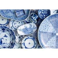 古伊万里  「青のある暮らし」 - カエルのバヴァルダージュな時間