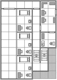 【TRPGモジュール】室内マップ:独居房 - セメタリープライム2