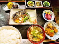 京都市 焼鯖定食♪ 漬物割烹 ふく井 - 転勤日記